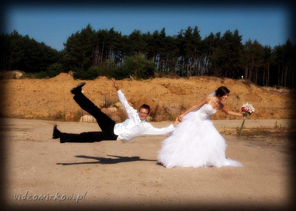 Plener ślubny videomirków żwirownia
