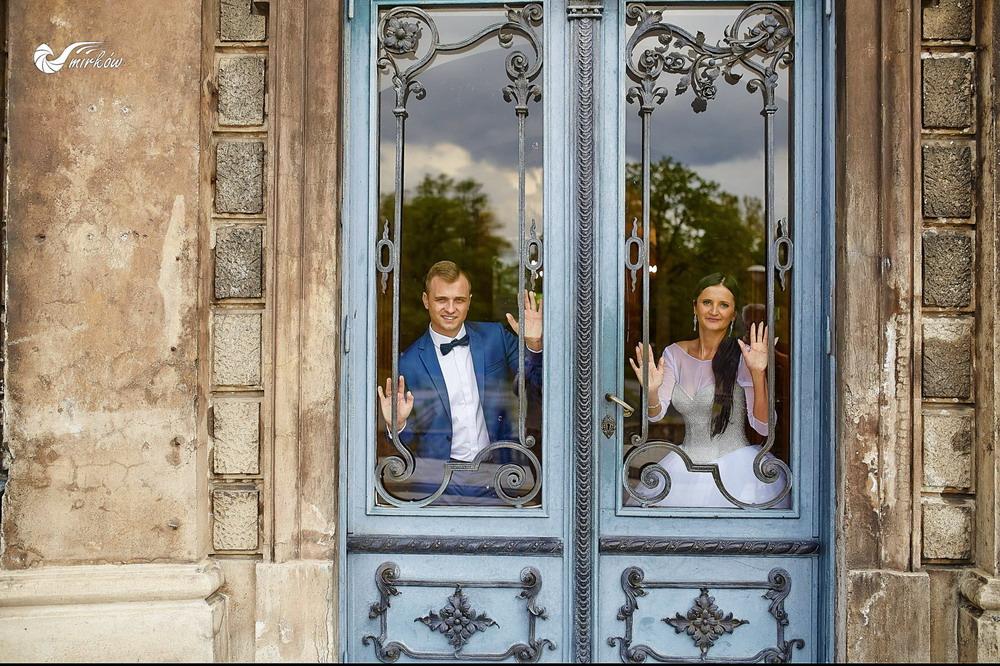 Plener ślubny videomirków zamek w Mosznej